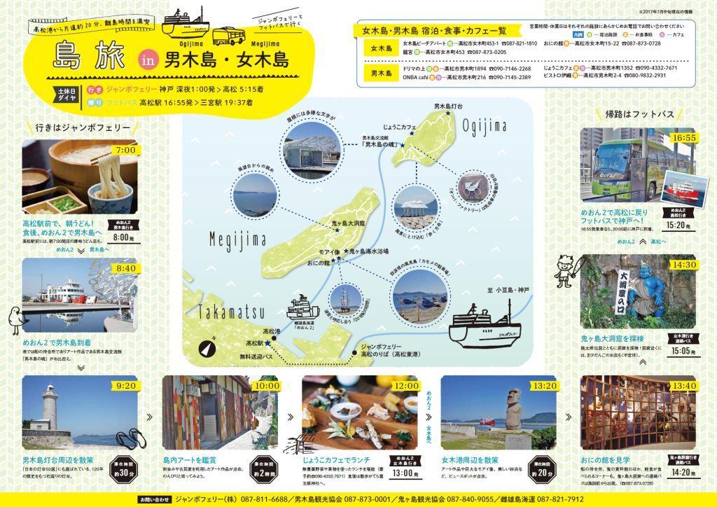 関西からのモデルコース